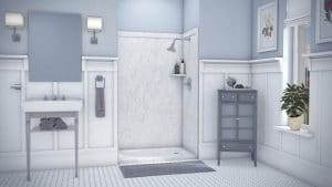 Austin Bathroom Remodel frost-elegance3-full - 1 Day Bath of Texas