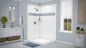 Austin Bathroom Remodel tetride-blue-accent-full - 1 Day Bath of Texas