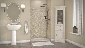 Austin Bathroom Remodel venetian gold elegance - 1 Day Bath of Texas