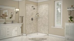 Austin Bathroom Remodel venetian gold splendor full - 1 Day Bath of Texas