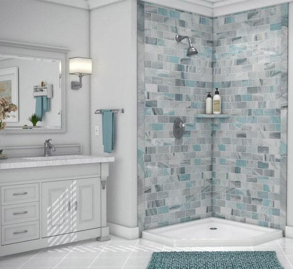 Austin TX Shower Remodel - 1 Day Bath of Texas